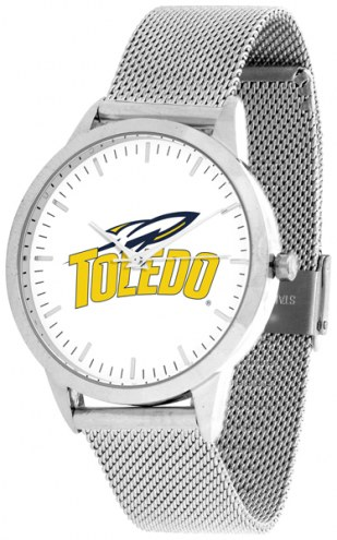 Toledo Rockets Silver Mesh Statement Watch