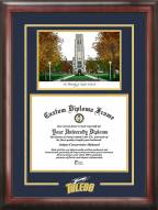 Toledo Rockets Spirit Diploma Frame with Campus Image