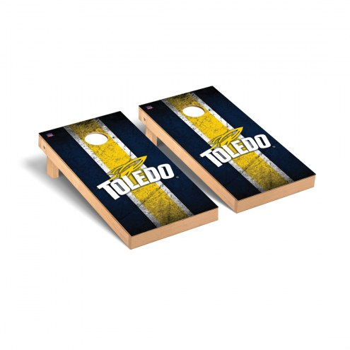 Toledo Rockets Vintage Cornhole Game Set