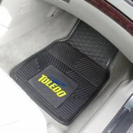 Toledo Rockets Vinyl 2-Piece Car Floor Mats