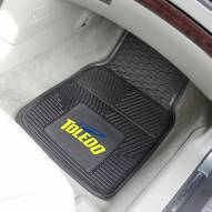 Toledo Rockets Vinyl 2-Piece Car Floor Mats