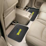 Toledo Rockets Vinyl 2-Piece Rear Floor Mats