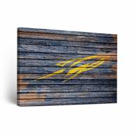 Toledo Rockets Weathered Canvas Wall Art
