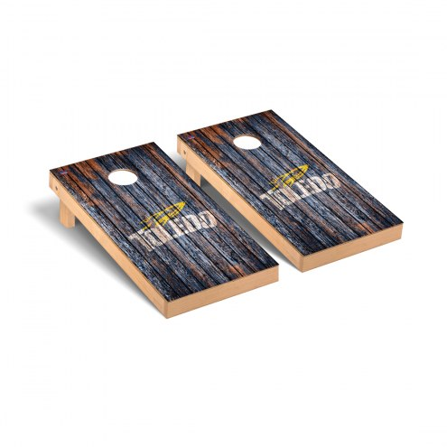 Toledo Rockets Weathered Cornhole Game Set