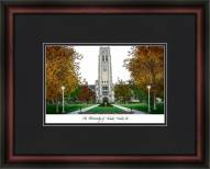 University of Toledo Academic Framed Lithograph