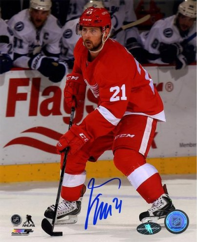 Tomas Tatar Signed Detroit Red Wings 8 x 10 Photo