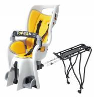 """Topeak BabySeat II Bicycle Seat with 29"""" Wheel Disc Rack - SCUFFED"""