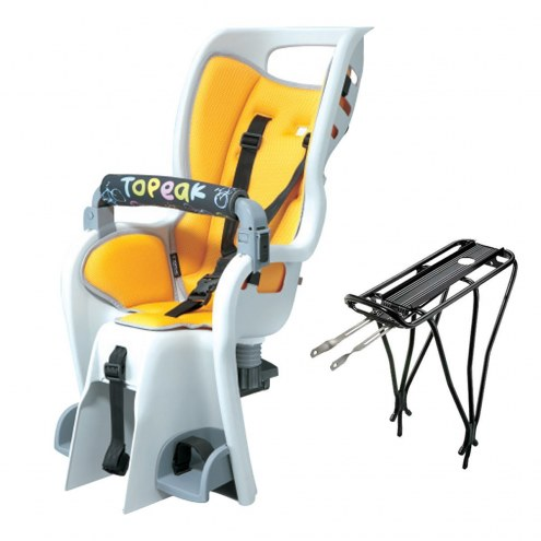 Topeak BabySeat II with Non-Disc Mount Rack