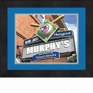 Toronto Blue Jays 13 x 16 Personalized Framed Sports Pub Print
