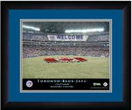Toronto Blue Jays 13 x 16 Personalized Framed Stadium Print