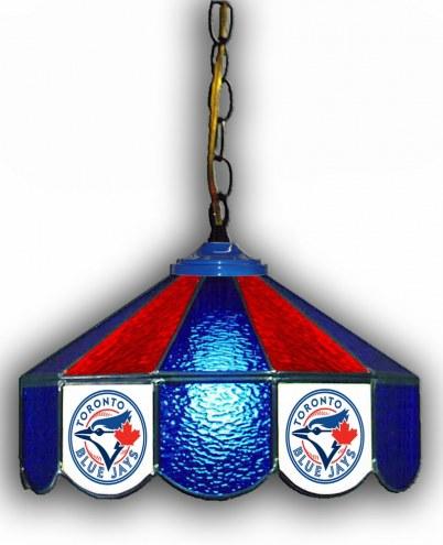 "Toronto Blue Jays 14"" Glass Pub Lamp"