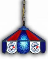 "Toronto Blue Jays 14"" Glass Pub Lamp"