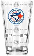 Toronto Blue Jays 16 oz. Sandblasted Pint Glass