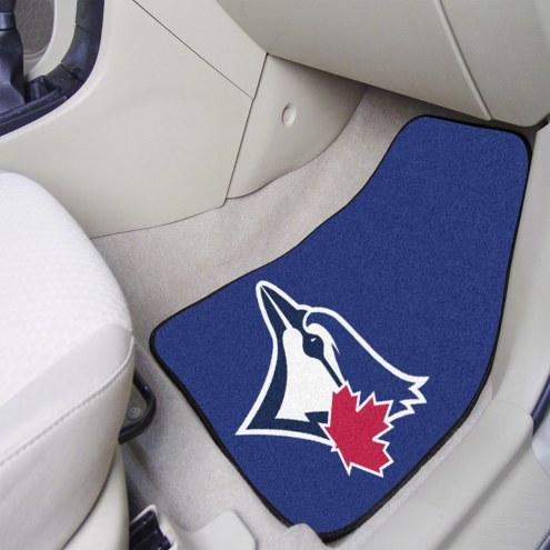 Toronto Blue Jays 2-Piece Carpet Car Mats