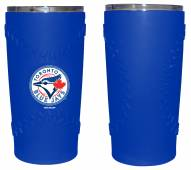Toronto Blue Jays 20 oz. Stainless Steel Tumbler with Silicone Wrap