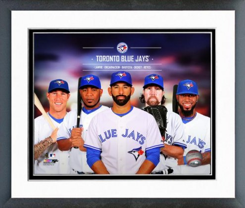 Toronto Blue Jays Team Composite Framed Photo