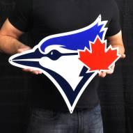 "Toronto Blue Jays 24"" Steel Logo Sign"