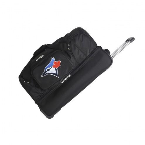 "Toronto Blue Jays 27"" Drop Bottom Wheeled Duffle Bag"