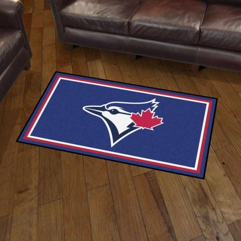 Toronto Blue Jays 3' x 5' Area Rug