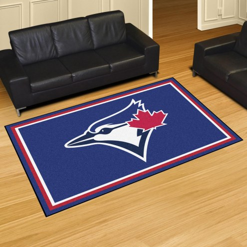 Toronto Blue Jays 5' x 8' Area Rug