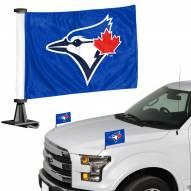 Toronto Blue Jays Ambassador Hood & Trunk Car Flag