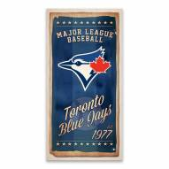 Toronto Blue Jays Watercolor Printed Canvas