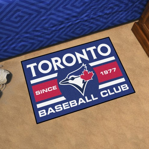 Toronto Blue Jays Baseball Club Starter Rug