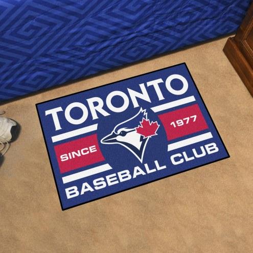 Toronto Blue Jays Baseball Club Starter Rug