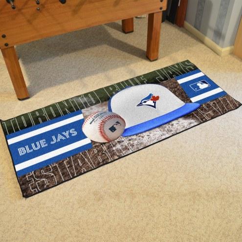 Toronto Blue Jays Baseball Runner Rug