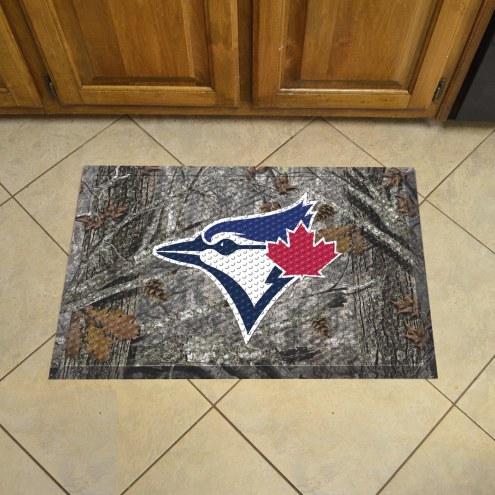 Toronto Blue Jays Camo Scraper Door Mat