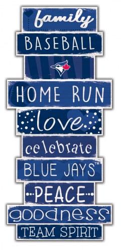 Toronto Blue Jays Celebrations Stack Sign