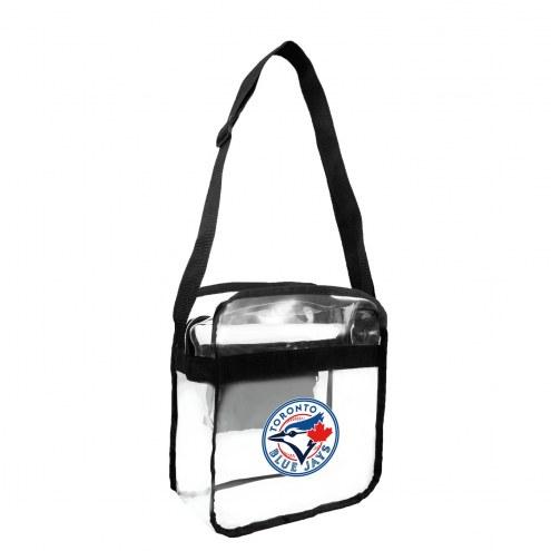 Toronto Blue Jays Clear Crossbody Carry-All Bag