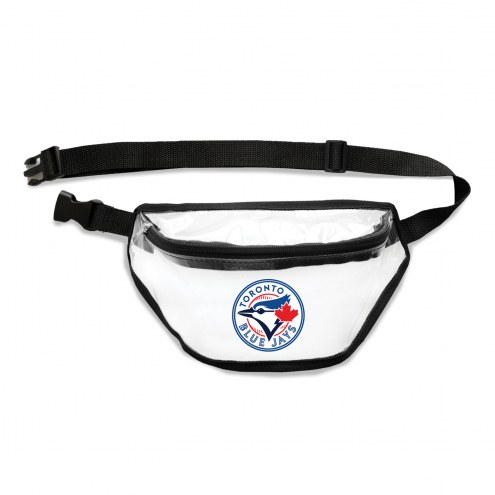 Toronto Blue Jays Clear Fanny Pack