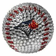 Toronto Blue Jays Swarovski Crystal Baseball