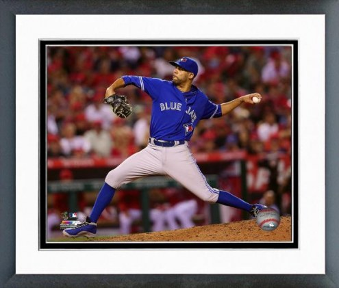 Toronto Blue Jays David Price Action Framed Photo