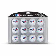 Toronto Blue Jays Dozen Golf Balls