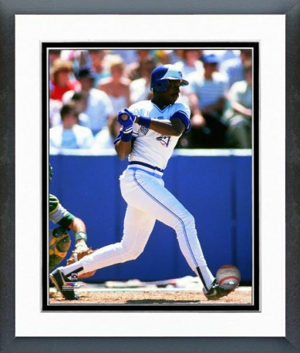 Toronto Blue Jays Fred McGriff 1988 Action Framed Photo