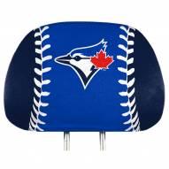 Toronto Blue Jays Full Print Headrest Covers