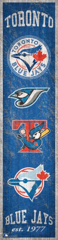 Toronto Blue Jays Heritage Banner Vertical Sign