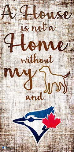 Toronto Blue Jays House is Not a Home Sign