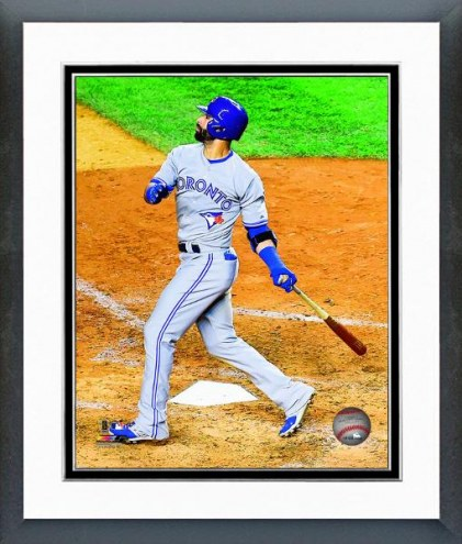 Toronto Blue Jays Jose Bautista Action Framed Photo