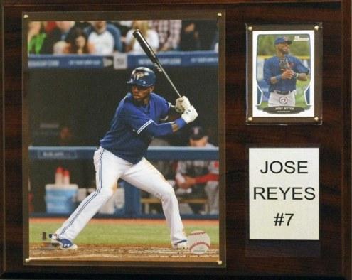 "Toronto Blue Jays Jose Reyes 12"" x 15"" Player Plaque"