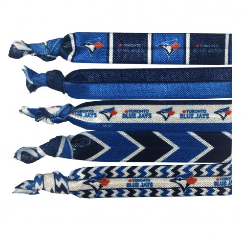 Toronto Blue Jays Knotted Hair Tie