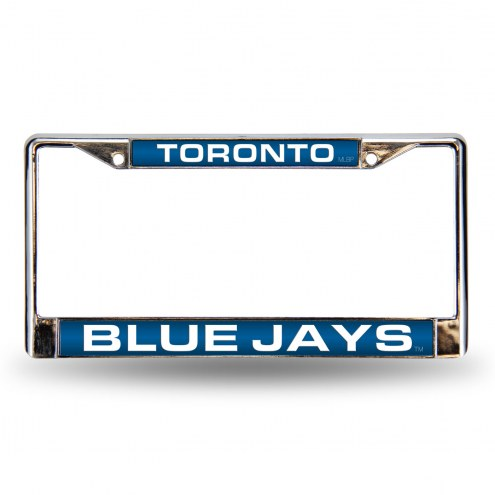Toronto Blue Jays Laser Rico Chrome License Plate Frame