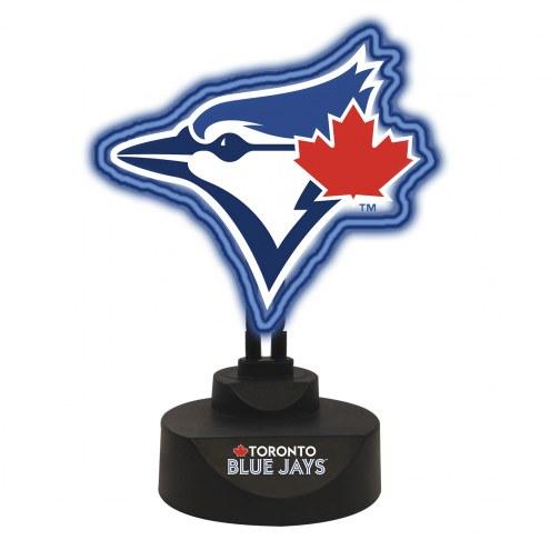 Toronto Blue Jays Team Logo Neon Light
