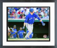 Toronto Blue Jays Michael Saunders Action Framed Photo