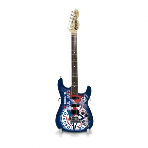 Toronto Blue Jays Mini Replica Guitar