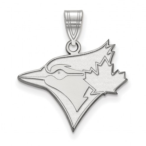 Toronto Blue Jays Sterling Silver Large Pendant