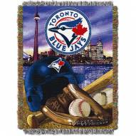 Toronto Blue Jays MLB Woven Tapestry Throw Blanket
