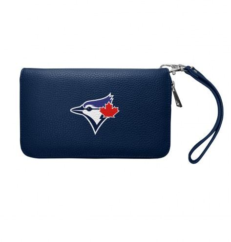 Toronto Blue Jays Pebble Organizer Wallet